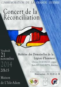 Affiche Concert Réconciliation