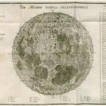 Carte de la Lune dressée par Tobias Mayer et nomenclature de J.H. Schröter.