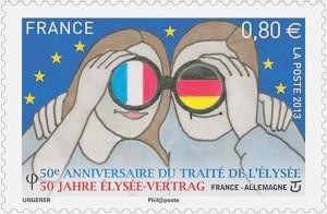 Le-timbre-sur-les-50-ans-du-Traite-de-l-Elysee