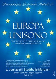 Europa-Unisono-Flyer